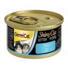 GimCat ShinyCat Kitten tonhal 70 g