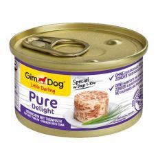 GimDog Pure Delight, csirke + tonhal 85 g