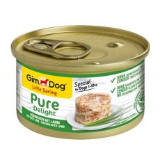 GimDog Pure Delight, csirke + bárány 85 g