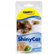 GimCat ShinyCat tonhal 2 x 70 g