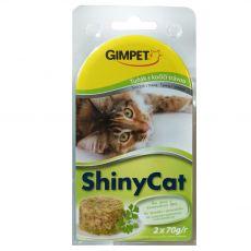GimCat ShinyCat, tonhal + macskagyökér 2 x 70 g