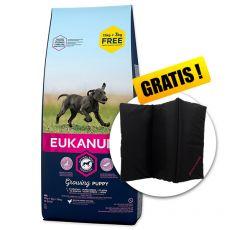 EUKANUBA PUPPY & JUNIOR Large Breed 15kg + 3kg GRÁTISZ+ AJÁNDÉK