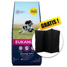 EUKANUBA PUPPY Medium Breed 15kg + 3kg GRÁTISZ + AJÁNDÉK