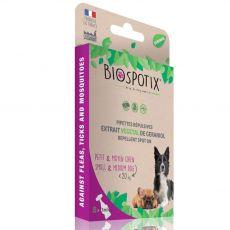 BIOGANCE Biospotix Dog spot-on S-M riasztó hatással 5 x 1 ml (20 kg -ig)