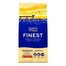 FISH4DOGS FINEST White Fish Puppy small 15 kg