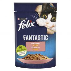 FELIX Fantastic tasakos eledel lazacból kocsonyában 85 g