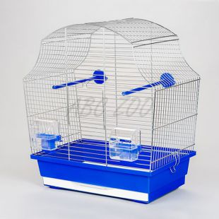MARGOT I króm - papagáj számára megfelelő kalitka - 43 x 25 x 47 cm