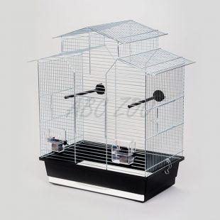 IZA II króm - ketrec papagájnak - 51 x 30 x 60,5 cm
