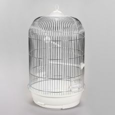 JULIA II, króm - papagáj kalitka - 34 x 34 x 63 cm