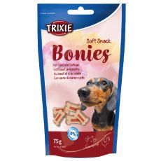 Soft Snack BONIES Light - csontok - marha/pulyka 75g