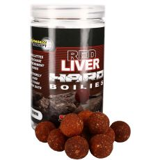 Starbaits Red Liver Hard Boilies 200g