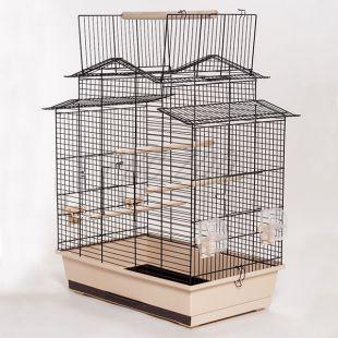 IZA III papagáj kalitka - 58,5 x 38 x 65 cm