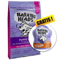 BARKING HEADS Puppy Days PUPPY LARGE BREED 12 kg + AJÁNDÉK