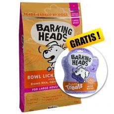 BARKING HEADS Bowl Lickin' Chicken ADULT LARGE BREED 12 kg + AJÁNDÉK