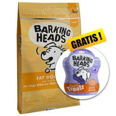 BARKING HEADS Fat Dog Slim LIGHT 12 kg + AJÁNDÉK