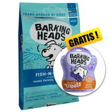 Barking Heads Fish-N-Delish Grain Free 12 kg + AJÁNDÉK