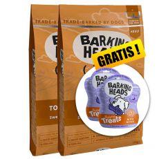 Barking Heads Top Dog Turkey Grain Free 2 x 12 kg + AJÁNDÉK
