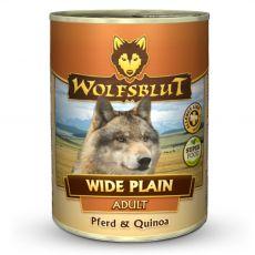 Konzerv Wolfsblut Wide Plain Kínoa 395 g