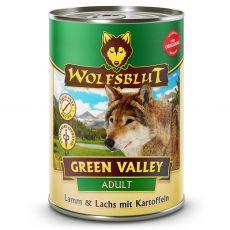 Konzerv Wolfsblut Green Valley Bárány és Lazac 395 g