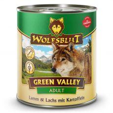 Konzerv Wolfsblut Green Valley Bárány és Lazac 800 g