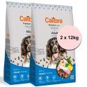 Calibra Dog Premium Line Felnőtt 2 x 12 kg ÚJ