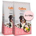 Calibra Dog Premium Line Junior Nagy 2 x 12 kg ÚJ
