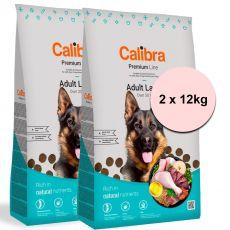 Calibra Dog Premium Line Felnőtt Nagy 2 x 12 kg ÚJ