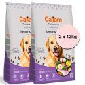 Calibra Dog Premium Line Senior & Light 2 x 12 kg ÚJ