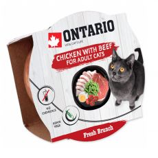 Ontario Fresh Brunch Csirke és Marha 80 g