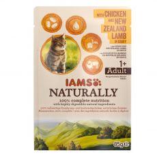 IAMS Naturally Csirke és Bárány 85 g