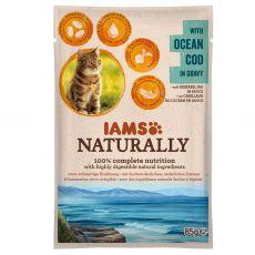 IAMS Naturally Ocean Tőkehal 85 g