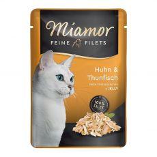 Miamor Feine Filets csirke és tonhal 100 g