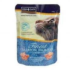Fish4cats Finest Lazac krém 100 g