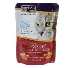 Fish4cats Finest Pisztráng krém 100 g