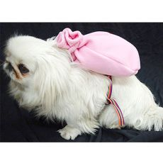 Batyu kutyáknak hámmal - rózsaszín