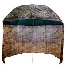 Terepszínú sátras PVC horgászernyő 250cm camo