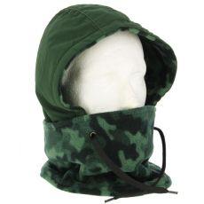 NGT DLX Camo Face Guard - Terepszínű Arcvédő