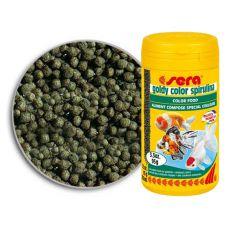 sera goldy Color Spirulina 250 ml - díszhaltáp
