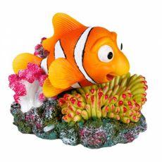 Akvárium dekoráció - Nemo korallon