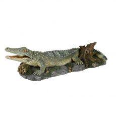 Krokodil sziklán - dísz