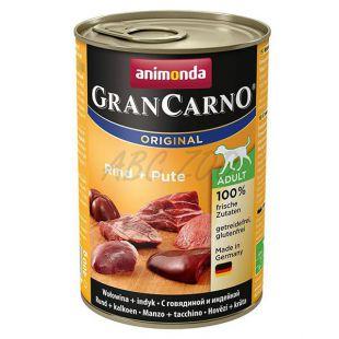 Gran Carno Fleisch Adult, marhahús pulykahússal - 400 g