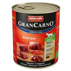 GranCarno Fleisch Adult marhahús konzerv - 800 g