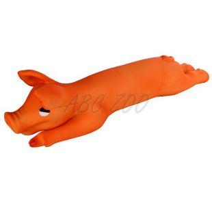 Kutya játék - latex malac, 42 cm
