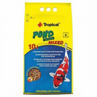 TROPICAL Pond Sticks Mixed 10L - eledel halaknak