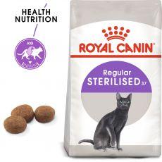 Royal Canin Sterilised 37 - ivartalanított macskáknak, 2kg