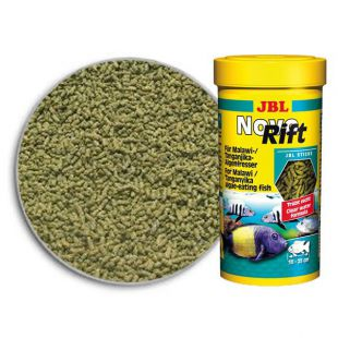 JBL NovoRift 250 ml - növényevő sügérnek táp