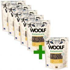 Woolf Botanicals Chicken stripes with yucca 80 g 5+1 GRÁTISZ