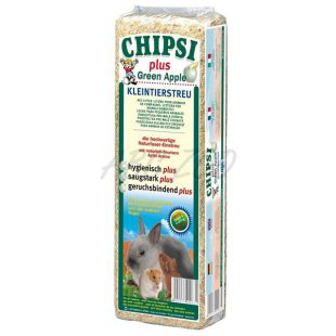 CHIPSI PLUS GREEN APPLE - Alom, alma illattal - 15 L