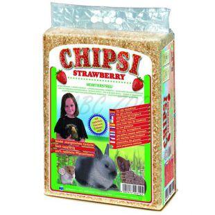 CHIPSI STRAWBERRY - földieper illatú alom 60 L