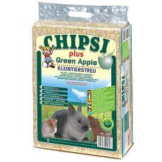 CHIPSI PLUS GREEN APPLE faforgács rágcsálónak - 60 L